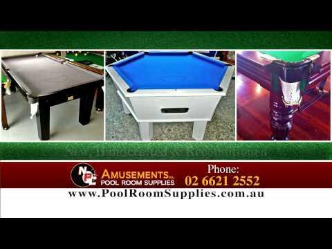 NPC AMUSEMENTS Pool Room Supplies Www.poolroomsupplies.com.au