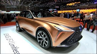 LEXUS LF-1 LIMITLESS CROSSOVER SUV COUPE CONCEPT CAR NEW MODEL 2018 WALKAROUND