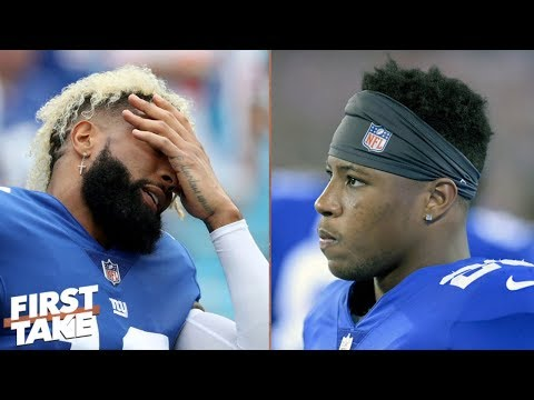 Odell Beckham Jr. or Saquon Barkley? Who is better fit to lead the Giants? | First Take