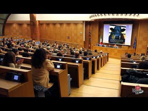 """Dibattito dopo la proiezione di """"Cowspiracy"""" al Parlamento Italiano"""