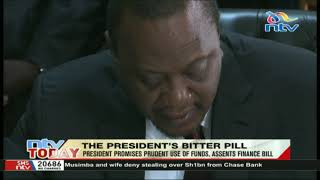 President Kenyatta promises prudent use of funds as he assents the finance bill