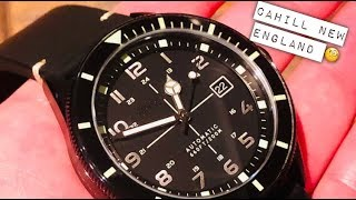 Spinnaker Cahill New England Special Edition Watch Review