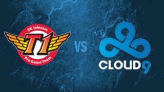 SKT vs C9 - 2014 All-Star Group Stage D1