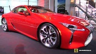 2017 Lexus LC500 - Walkaround - Debut at 2016 Detroit Auto Show