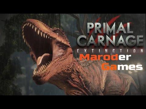 Primal Carnage Extinction - Люди против динозавров.(Онлайн батл)