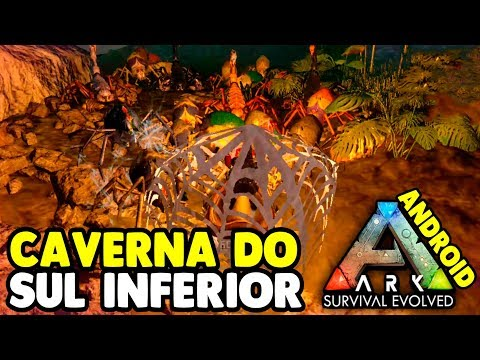 Clean Southern Lower Cave - ARK SURVIVAL Mobile Android and iOS # 18