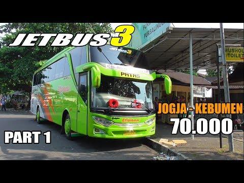Naik Bus Efisiensi Terbaru Trip Report Jogja Kebumen