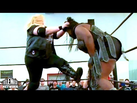 Awesome Kong (AEW) Vs Amy Lee - Falls Count Anywhere (Women's Wrestling) IPPV Version