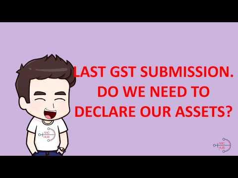 2018 Final GST Return - Stock In hand