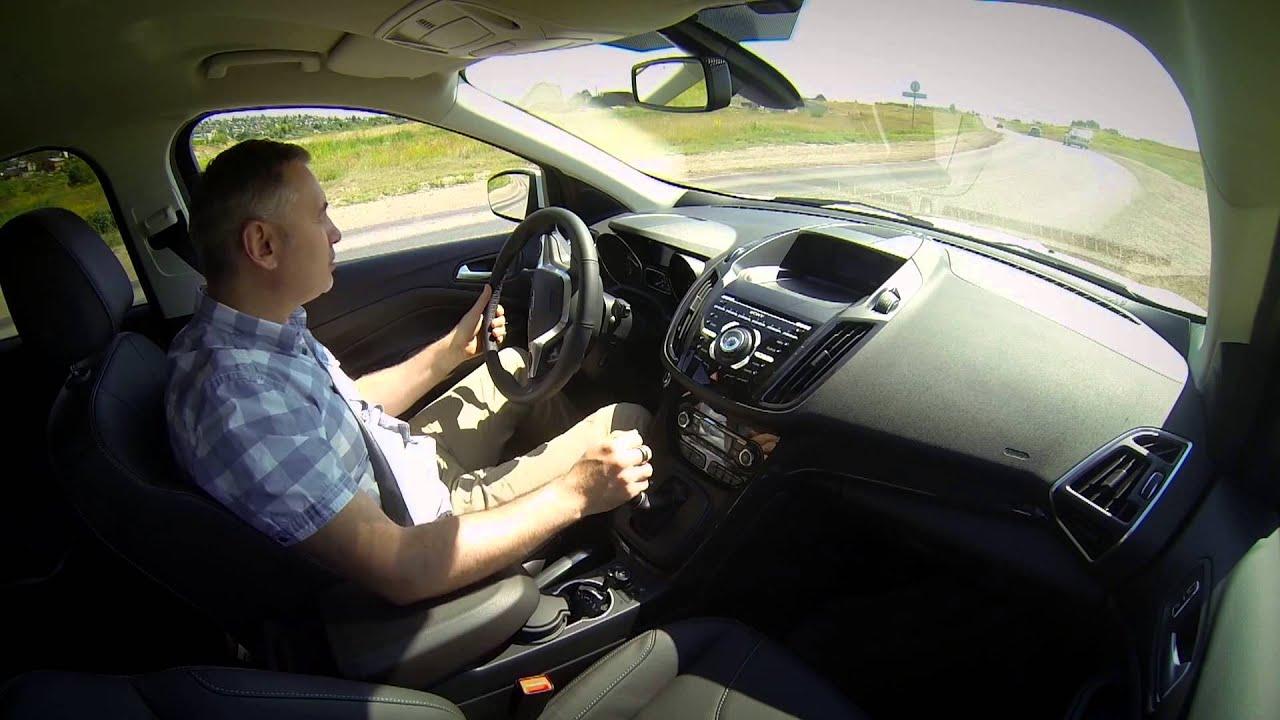 Ford Kuga 2013 / Форд Куга - ТЕСТ ДРАЙВ с Александром Михельсоном! ЧАСТЬ 2