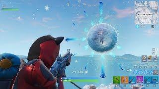 Fortnite ICE KING ORB Polar Peak Special Event Time | 4th Icefire goes out!