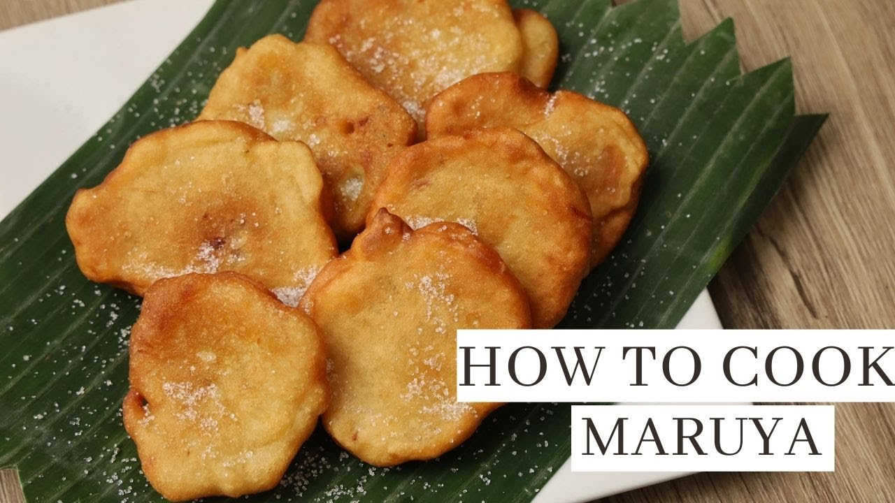How to Cook Maruya  ( Banana Fritters ) Pinoy Merienda Recipe