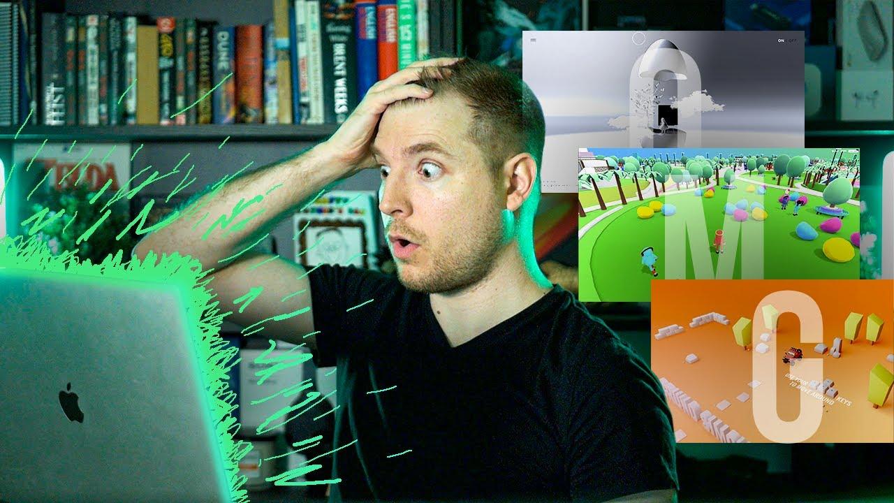 Web Developer Reacts to Amazing Websites
