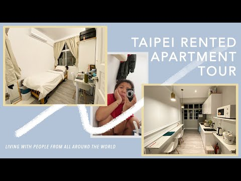 FOREIGN STUDENT'S TAIPEI RENTAL APARTMENT – BEEN 1 MONTH // 台北學生的租房