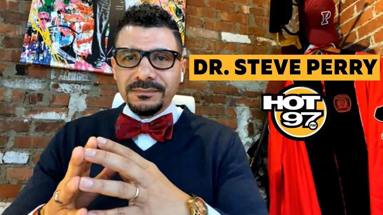 Dr. Steve Perry On Schooling During COVID-19, School Choice, + Bringing Confidence To Students