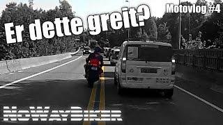 BRYTE TRAFIKKREGLER MED MOTORSYKKEL // MOTOVLOG #4 // YAMAHA FZ1/R1