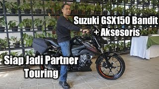 Video Penampakan Aksesoris Touring Suzuki GSX150 Bandit download MP3, 3GP, MP4, WEBM, AVI, FLV September 2018