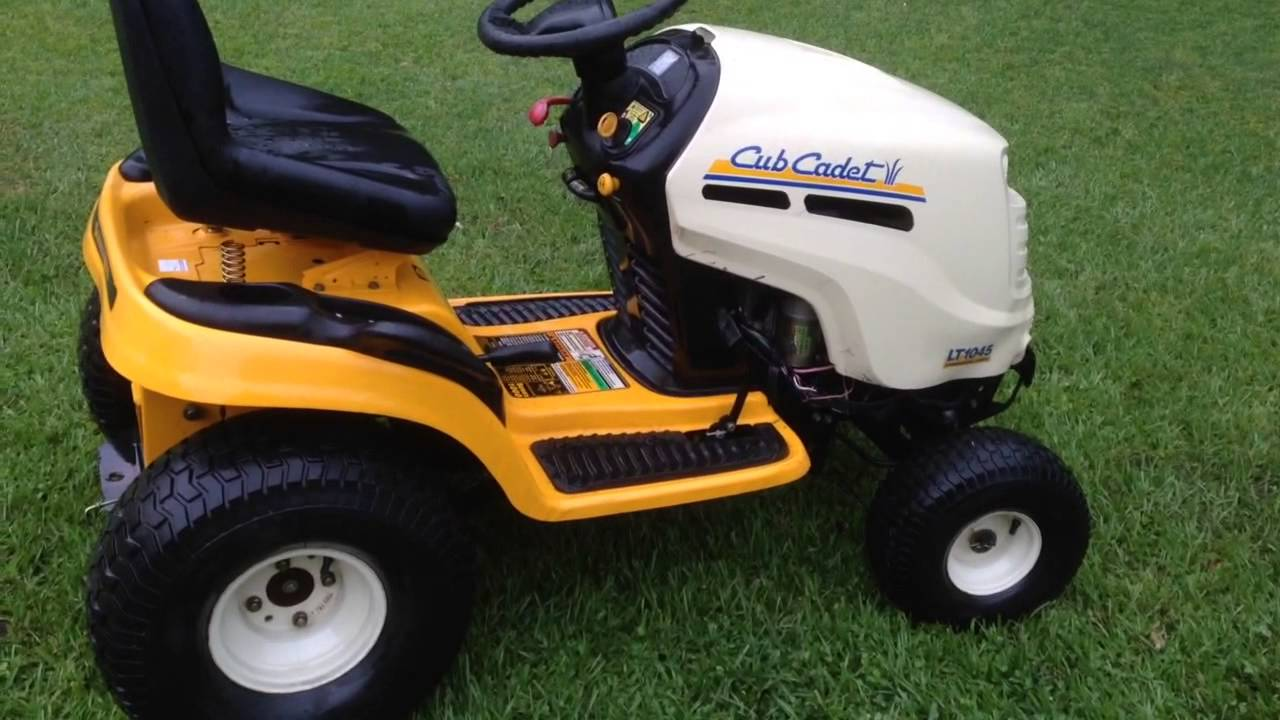 Cub Cadet Riding Mower For 100 Bucks Youtube