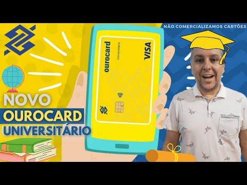 💳Novo Cartão BB Ourocard Universitário Internacional| Visa Sem Anuidade🔝