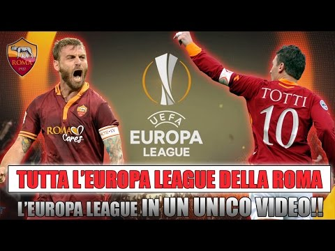 TUTTA L'EUROPA LEAGUE IN UN UNICO VIDEO!! | L'EUROPA LEAGUE DELLA ROMA! [By Giuse360]
