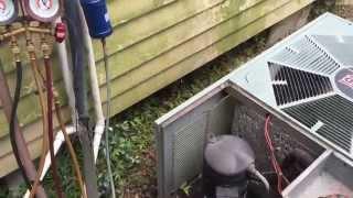 Aire acondicionado no enfría/Air conditioning not cooling