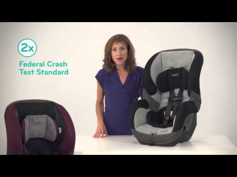 Evenflo SureRide DLX Convertible Car Seat Product Knowledge SD