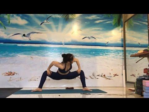 Yoga hỗ trợ trị liệu CBtâm trí linh hoạt CS bài tập tốt cho người thoái hóa ĐS thoát vị đĩa đệm Qk27