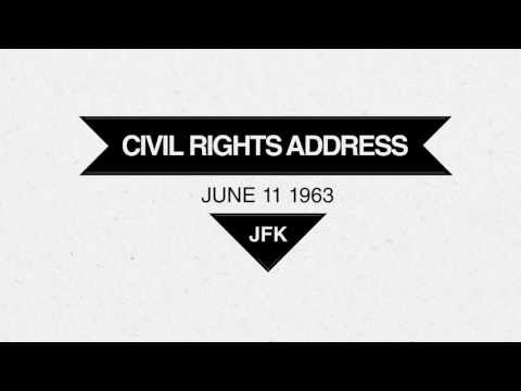JFK - Civil Rights Address - Today 50 Years Ago
