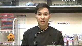Chef Hasset's Mango Sansrival On Homepage (net25), Nov. 18, 2010
