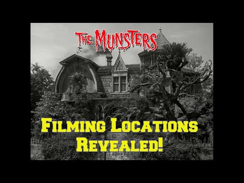 """Download """"The Munsters""""-- FILMING LOCATION Revealed! Before and After/Then and Now!"""