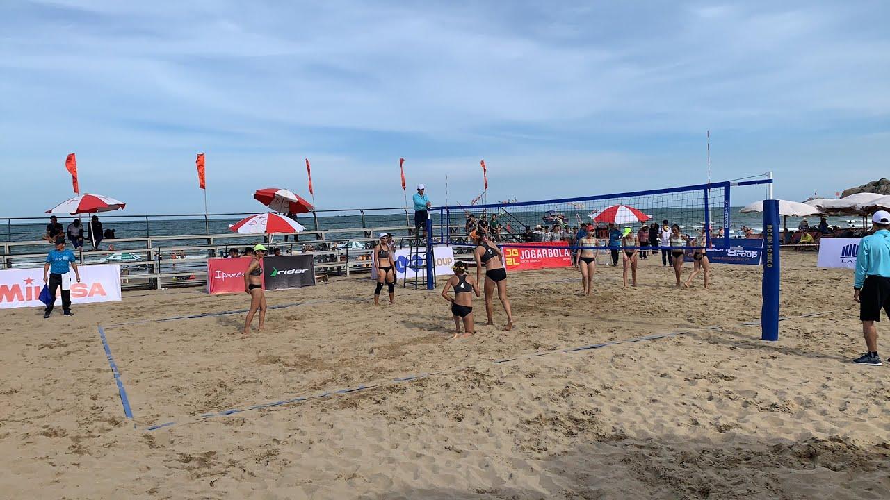 Khai mạc giải bóng chuyền bãi biển 4x4 quốc gia năm 2020 tại Sầm Sơn