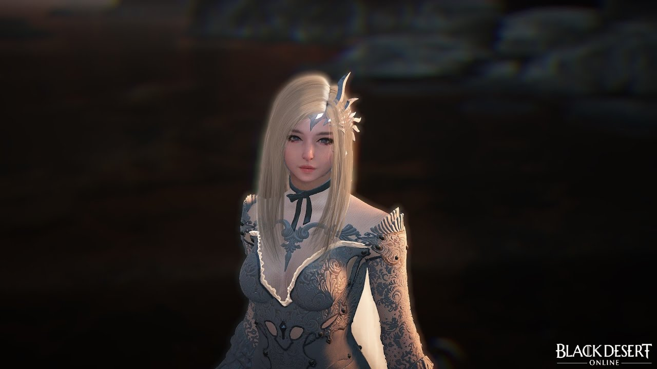 Level 56 Dark Knight Grinding to 57 in Gahaz - Black Desert Online