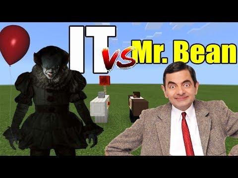 IT vs Mr Bean | Minecraft PE