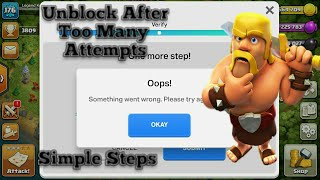 Supercell Id Error After Too Many Attempts! Problem Solved|
