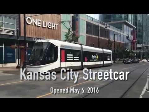 Kansas City Light Rail KC RideKC Streetcar