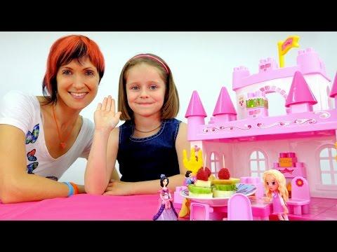 Игры для девочек: ГОТОВИМ ЕДУ. Миньоны, принцессы и фруктовые шпажки. Видео для детей