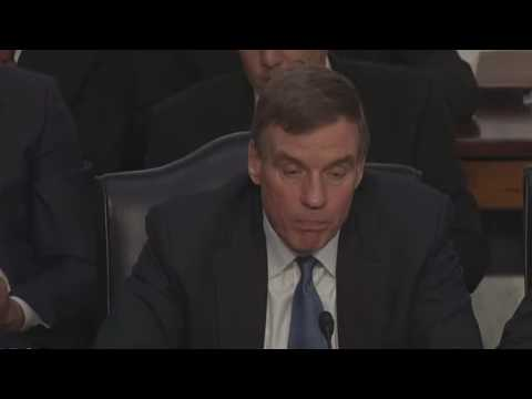 Mark Warner Asked The Make Or Break Question of The Russia Hearing