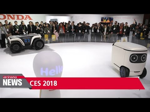Autonomous vehicles powered by AI dominate CES 2018