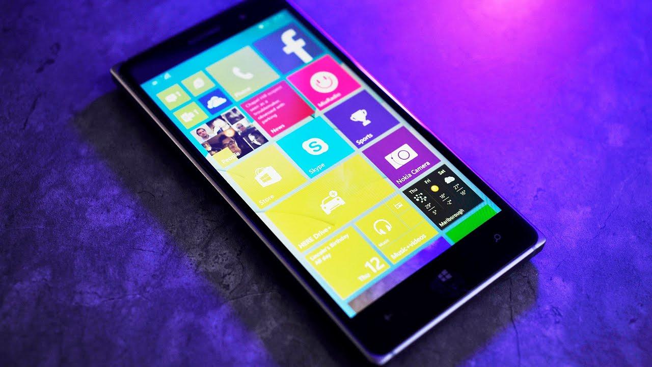 Windows 10 For Phone Hands On Lumia 830