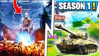 *NEW* Fortnite Leaks! | OG Season 1 Theme Returning, New Location, LTM