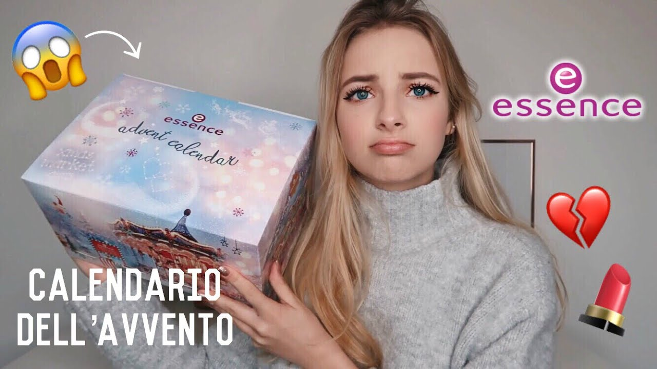 Calendario Avvento Essence.Calendario Dell Avvento Essence Oks Dane Youtube
