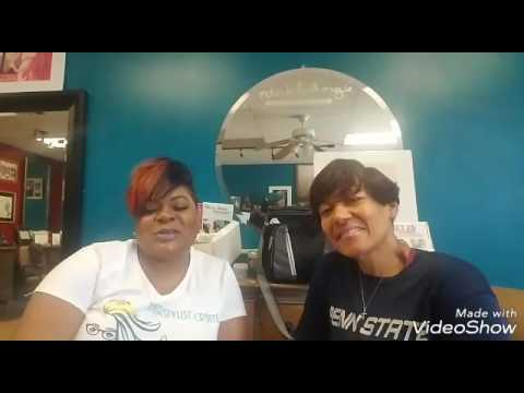 Philly beauty network presents Angel Hunter.  Tips on nutrition and exercise in the salon