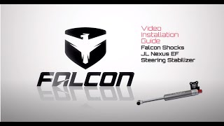 Falcon Shocks Install: JL/JLU Falcon Nexus EF 2.2 Steering Stabilizer