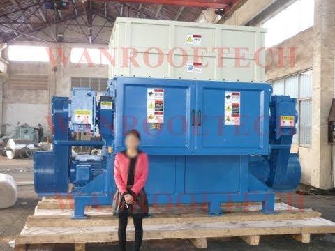 China Original Manufacturer Supplier of Plastic Pallet Shredder Machine,Plastic Barrel Drum Shredder