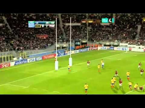 Rugby 2007. Pool C. Romania v Portugal