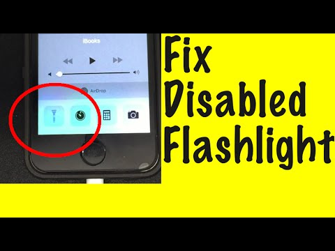 iphone flashlight not working missing iphone flashlight fix 15265