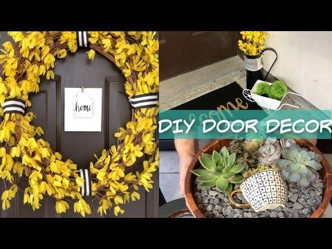 Dollar Tree DIY Front Door Decor