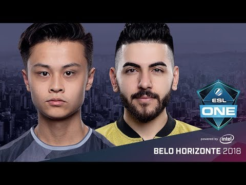 CS:GO - SK vs. Space Soldiers [Cache] Map 1 - Group A Decider Match - ESL One Belo Horizonte 2018