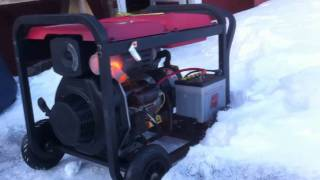 Diesel Generator First And Last Start