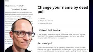 Change your name on your drivers licence